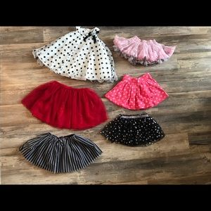 Gently Used Lot-Baby/Toddler Girl Skirts & Dress